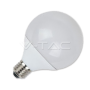 LED spuldze - LED Bulb - 10W G95 Е27 Thermoplastic Warm White Dimmable